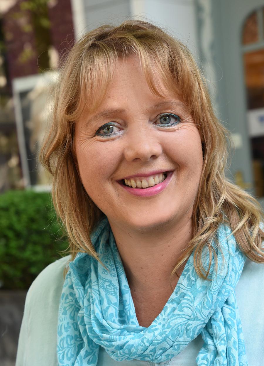 Friseurmeisterin Petra Beckschulte