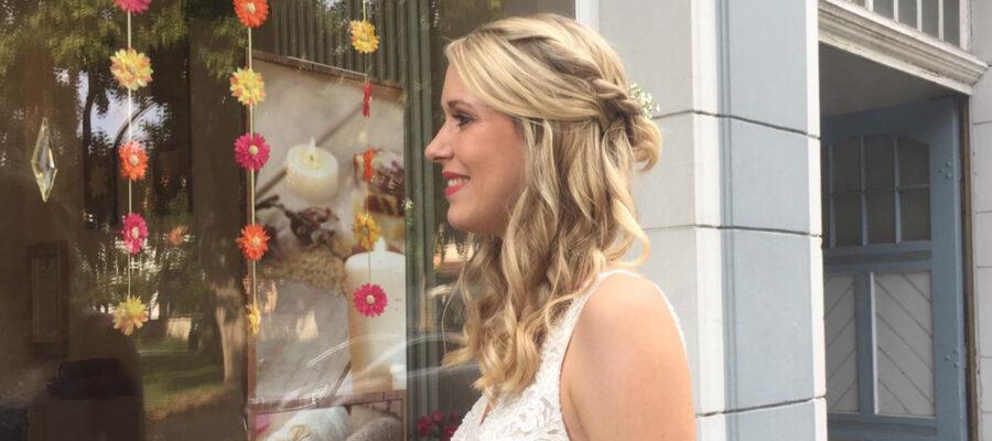 Brautfrisur Hochzeit